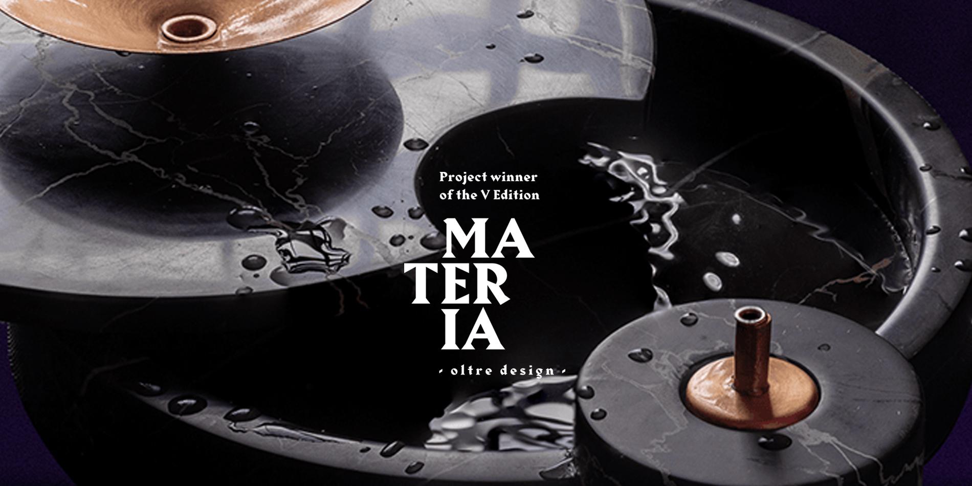 Vincitore Materia Design Festival 2020
